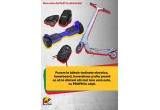 2 x trotineta electrica, 3 x hovershoes, 2 x hoverboard, 2 x boxa portabila, 1 x set rucsac + baterie externa