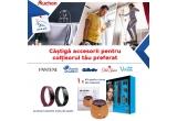 5 x aparat de tuns barba si parul 12 in 1 Philips Multigroom MG5740/15, 5 x difuzor aromaterapie PNI HU180 pentru uleiuri esentiale, 10 x bratara fitness Fitbit Inspire