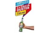 3 x masina Dacia Duster, 62 x 3.000 lei, 24.000 x Pahar Bergenbier, 3.459.016 x bere Bergenbier blondacu alcool 0,5L