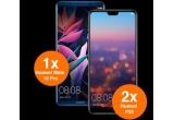 2 x smartphone Huawei P20, 1 x smartphone Huawei Mate 10 Pro
