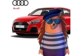 2 x mașina Audi A1 Sportback, 1 x apartament de 2 camere in Brașov pentru 1 an, 300 x voucher vivre.ro de 600 lei, 10 x 1000 Euro, 400 x Mini Router WiFi Mobil