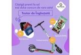 3 x trotineta electrica E-TWOW + cutie de inghetata TOPGEL, 5 x boxa bluetooth JBL