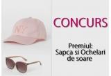 1 x sapca + ochelari de soare de la brand cunoscut