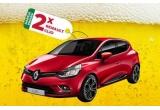 2 x mașina Renault Clio 4 Life Evo, 17 x Frigider cu doua usi LDK LF 220 RED 207 l A+ rosu + 3 bax-uri doze Skol Original, 120 x Gratar