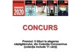 1 x 5 titluri din cea mai vanduta colecție din aceasta perioada: Coronavirus 2020