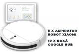 5 x aspirator robot Xiaomi Mi Vacuum Mop Cleaner, 10 x boxa inteligenta Google Nest Hub