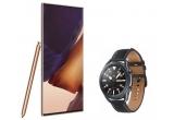 3 x smartphone Samsung Galaxy Note20 Ultra 5G + smartwatch Samsung Galaxy Watch3 LTE