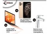 1 x Laptop Apple MacBook Air 13' 2020, 1 x iPhone 11 Pro 64GB Gold Edition, 1 x Baterie Lavoar Grohe Eurodisc Cosmopolitan S
