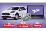 1 x mașina Ford Kuga, 150 x Card Cadou IKEA de 750 lei, 50 x Laptop Dell Inspiron 3593