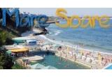 """<p> 3 x DVD-uri cu filmul """"Mama are un nou iubit"""", 3 x seturi de plaja oferite de Bioderma, un pachet cu produse de ingrijire corporala, oferite de SeaClay, un voucher pentru masaj aromatic oferit de Ana Aslan Health Spa, marele premiu: un weekend la mare pentru doua persoane la Hotel Europa din Eforie Nord, cu cazare, mic dejun si SPA incluse, oferit de Ana Hotels.<br /> </p>"""