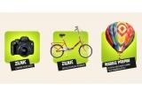 "1 x sejur all inclusive ""Descopera Romania altfel"" pentru 4 persoane, 63 x camera foto DSLR, 63 x bicicleta Pegas pliabila"