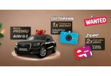 1 x masina Audi Q2 2019 35 TFSI 110 kW S tronic, 10 x Camera Foto Instant Polaroid Originals, 142 x Voucher eMag de 50 lei