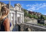 9 x city break pentru 2 persoane la Bergamo cu transport + cazare + 2 vouchere de 140 euro fiecare pentru cina/pranz + 2 cupoane de 200 euro fiecare pentru e-bike/ masina/transfer