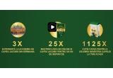 3 x  voucher excursie la Bremen + voucher cursuri cafea la Johan Jacobs Haus + Diurna 485 lei/sejur, 25 x  full access cont la platforma online masterclass.com + cafea Jacobs pentru 1 an (6 kg de cafea), 1125 x Cutie Jacobs pentru cafea