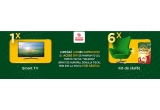 1 x televizor Smart Android LED Sony Bravia 4K Ultra HD 138.8cm, 6 x kit de rasfat format din fotoliu + 6 cutii de Jacobs Cappuccino