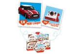 1 x masina Mini Cooper Hatch, 10 x Camera Foto Instant Polaroid Now I-Type