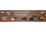 1 x aparat foto Canon mirrorless Canon EOS M50 + Obiectiv EF-M 15- 45mm, 3 x SmartWatch Xiaomi, 42 x Voucher Kaufland de 50 lei
