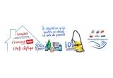 10 x aspirator multifuncțional, 200 x cos cu produse Unilever pentru curatenie