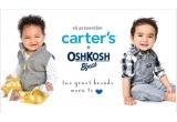 1 x voucher de 600 RON in magazinul online Carter's Romania