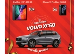 "1 x mașina Volvo  XC60 R-Design B5, 5 x iPhone 11 Pro Max 256 GB Space Grey, 10 x iPad Pro 12.9"" 256GB - Space Grey"