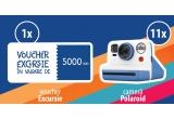1 x Voucherul de vacanta Holiday Mag de 5000 lei, 11 x Camera Foto Instant Polaroid Now