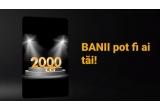 1 x 2000 lei