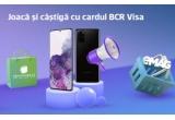 10 x smartphone Samsung Galaxy S20 Plus, 1.000 x voucher eMAG de 300 lei, 1.000 x voucher Vodafone de 200 lei, 1.130 x voucher Carturești de 100 lei
