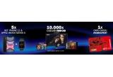 5 x set Iphone 11 & Apple Watch Series 5, 1 x Gift Card Mobexpert in valoare de 10000 lei, 10000 x Cod de acces HBO GO pentru 1 luna