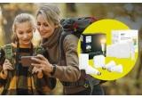 4 x termostat inteligent fara fir Tado V3+, 17 x sistem de iluminat inteligent LED Philips Hue White Ambiance Starter