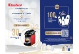 30 x Espressor de cafea, 100 x kit cu produse Nivea