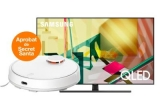 3 x televizor Samsung QLED Smart TV 4K QE65Q70TATXXH 165 cm, 3 x aspirator Xiaomi Mi Robot Vacuum Mop Cleaner