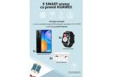 1 x smartphone Huawei P smart 2021, 2 x Smartwatch Huawei Watch Fit Stia-B09, 3 x Casti Bluetooth Huawei FreeBuds Lite CM-H1C