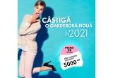 3 x voucher Fashion Days de 5000 lei
