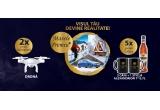 1 x 17.500 euro, 18 x drona de 800 lei, 315 x 2 cani Alexandrion Hot + 1 sticla de Alexandrion 7* de 0,7l