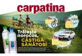 "1 x mașina Dacia Duster, 15 x Bicicleta Mountain Bike MTB ST 100 27.5"" Gri ROCKRIDER, 105 x Apa pentru un an"