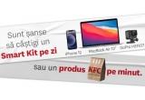 56 x laptop Apple MacBook Air 13 (2020) + iPhone 12 128GB 5G + camera video sport GoPro HERO7 4K GPS Silver Edition, 80.640 x produs KFC la alegere