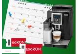 1 x Espressor automat De'Longhi ECAM 23.460 B 1450 W 15 bar LatteCrema system 1.8 l Negru, 9 x voucher Supermercato de 500 lei, 60 x voucher Supermercato de 50 lei