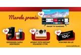 1 x televizor SMART TV SAMSUNG 125 cm Smart 4K Ultra HD LED Clasa A, 3 x Espressor Cafea Nespresso, 3 x Aparat Foto Polaroid Now I-Type + set de 2 filme color, 3 x Voucher CaliVita Cadou 100 lei