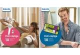 1 x statie de calcat cu aburi Philips PerfectCare Compact Plus, 1 x Philips OneBlade Face + body, 1 x aparat IPL pentru indepartarea parului Lumea Prestige