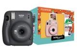 5 x aparat foto instant Fuji Instax Mini 11 + film foto Fujifilm Instax 20 folii