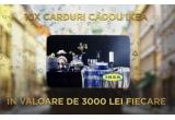 10 x card cadou IKEA in valoare de 3.000 lei