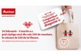 100 x voucher Auchan de 100 lei