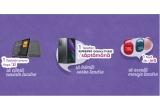 4 x smartphone Samsung Galaxy Z Fold2, 28 x tableta Lenovo Yoga Smart Tab Octa-Core, 672 x Boxa IP67 JBL Clip 4