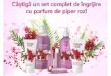 1 x set complet de ingrijire cu parfum de piper roz