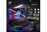 1 x laptop gaming ROG Strix G15 G512LV-HN230, 1 x pereche casti gaming ROG Delta S, 1 x mouse gaming ROG Chakram Wireless
