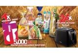 1 x voucher eMAG de 5.000 lei pentru achiziția de electrocasnice pentru bucatarie + pachet aniversar cu produse Dobrogea, 24 x prajitor de paine Tefal + pachet aniversar cu produse Dobrogea