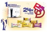 1 x consola PlayStation 5 Digital Version EU + pachet aniversar cu produse Dobrogea, 24 x voucher eMAG in valoare de 300 lei + pachet aniversar cu produse Dobrogea
