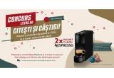 2 x espressor Nespresso Essenza Mini Negru C30 + 50 de capsule de cafea Master Origin + set de cești de cafea Nespresso.