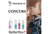 1 x Spray cu vitamina D pentru copii + Spray Multivit Junior + Spray cu vitamina D pentru adulți + Loțiune de corp cu magneziu Junior + cadou surpriza din partea AmNascutAcolo.ro