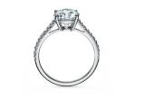 1 x inel cu diamant Damiani Bocciolo de 10.000 euro